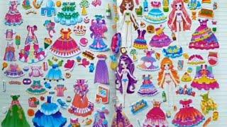 Dán hình sticker 3d thay đồ cho các nàng công chúa _ tập 16