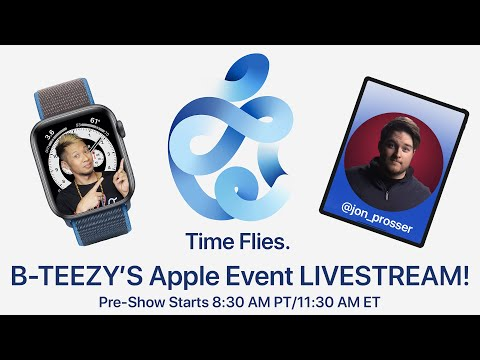 Apple Event September 15th Time Flies Livestream W Brian Tong Youtube