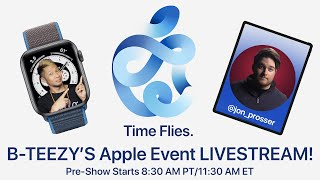 Apple Event - September 15th 'Time Flies' Livestream w/ Brian Tong