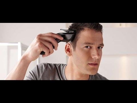 Как подстричь мужа машинкой самостоятельно видео