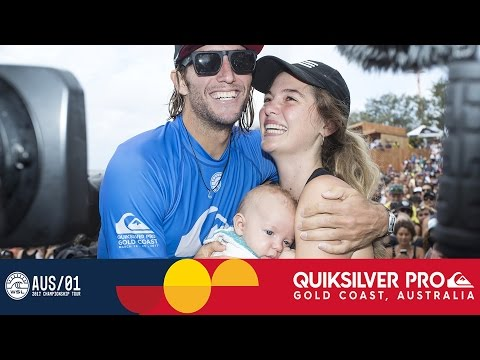 Owen Wright's Emotional Post-Win Interview - Quiksilver Pro
