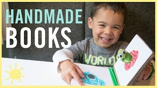 PLAY   HANDMADE BOOKS!