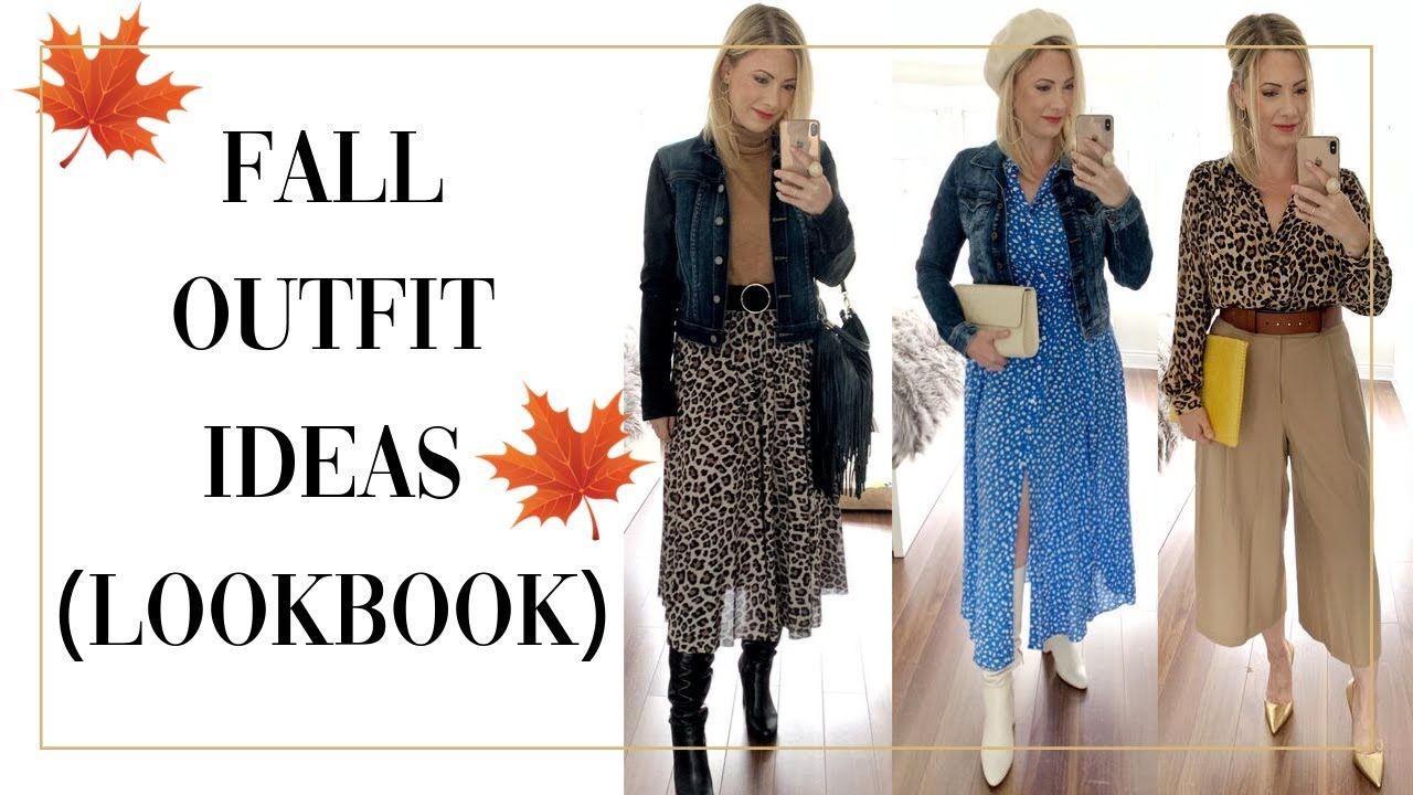 [VIDEO] - FALL LOOKBOOK 2019 OUTFIT IDEAS 8