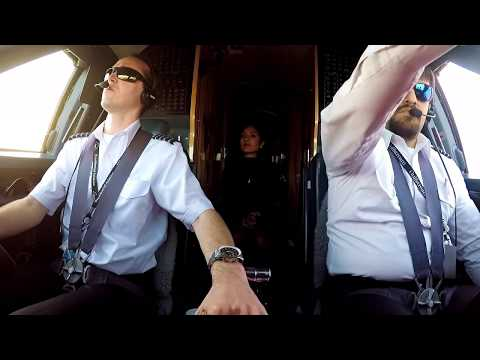Gulfstream Landing Palm Beach President Trump TFR...Air Force One - Pilot VLOG 35