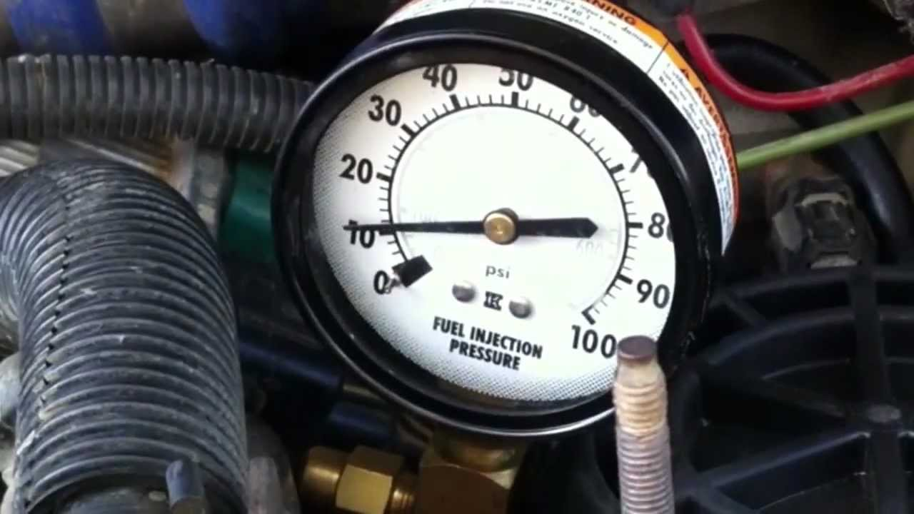 1995 Volvo Penta 5 7 Wiring Diagram 7 3l Psd How To Measure Fuel Pressure Youtube