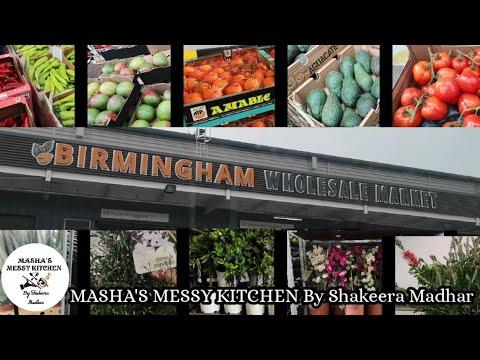 Birmingham Wholesale Market In English