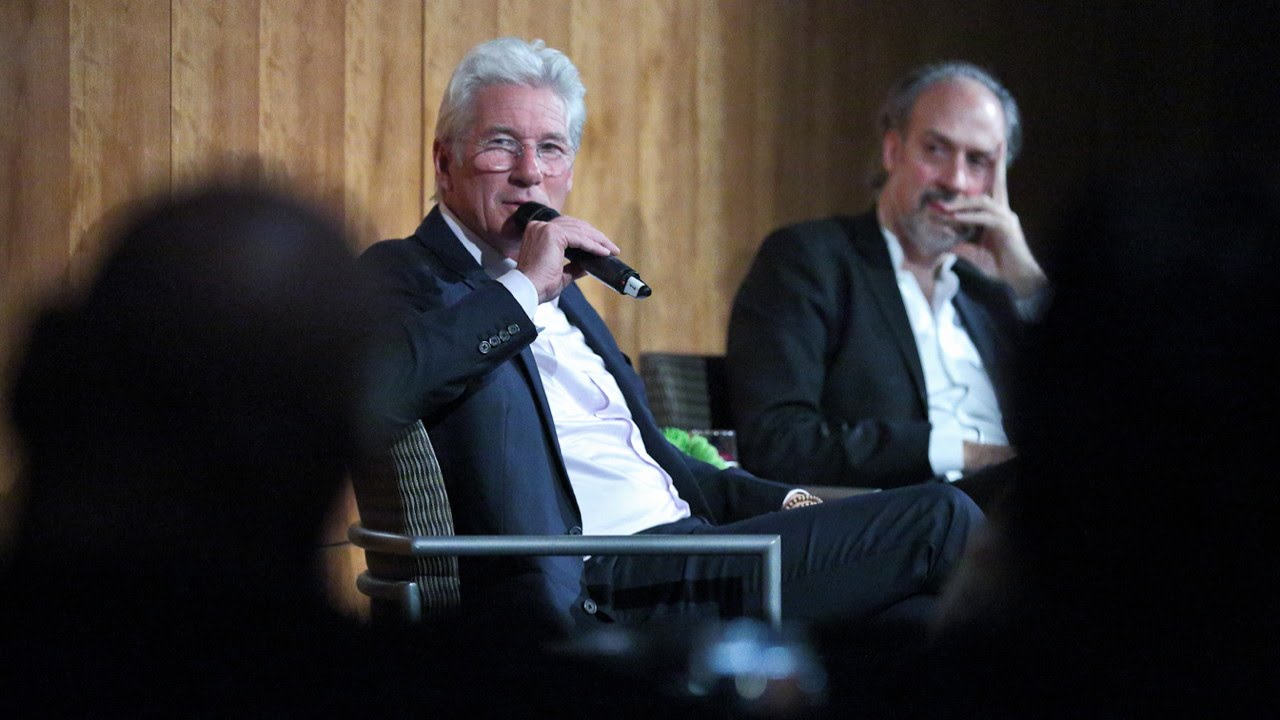 NYFF52 An Evening with Richard Gere   Shooting on the Streets of NYC