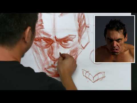 Head Drawing 1 with Charles Hu | Part 6: Facial Expressions | TRAILER