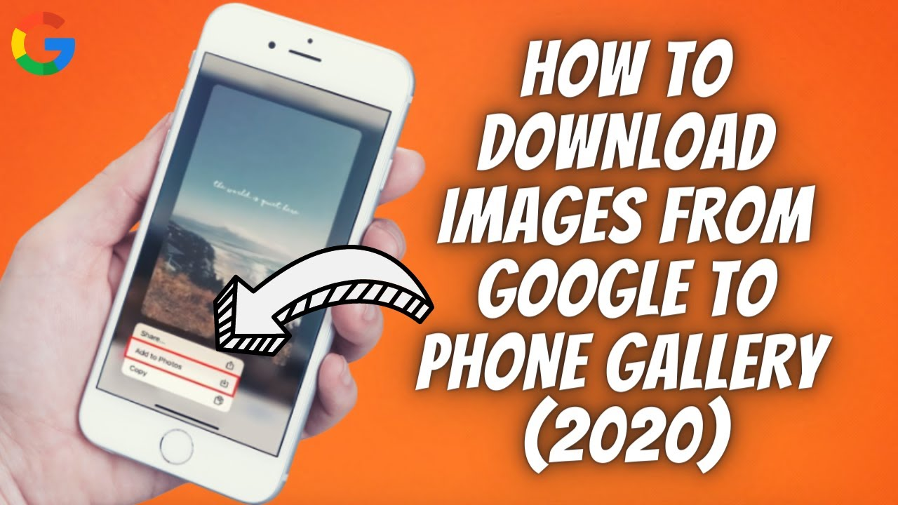 How To Download Save Images From Google To Phone Gallery 2020 Ip Phone Save Image Iphone