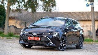 ANWB Test Toyota Corolla Touring Sports 2019 (HYBRIDE VOOR SCHEURNEUZEN)