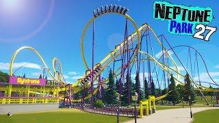 Neptune Park (ep. 27) - Inverted Coaster Insanity! | Planet Coaster