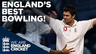 Jimmy Anderson Takes Incredible 7-43! | England's Best Bowling | England v New Zealand 2019