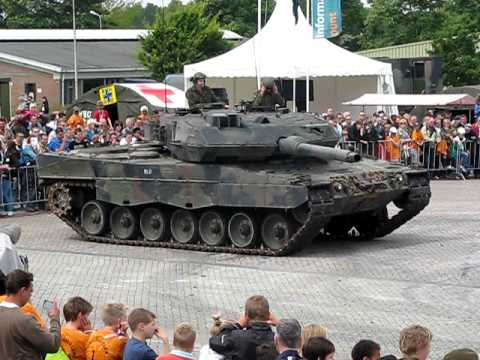 Leopard 2 A6 Crushed Renault Nevada