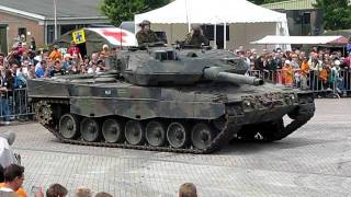 leopard 2 A6 crushed renault nevada thumbnail