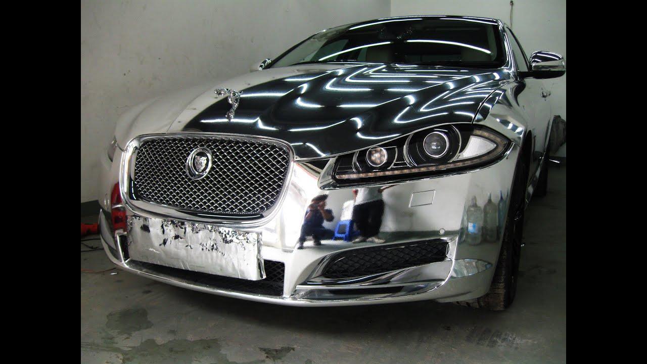 Full Chrome Jaguar Xj In Delhi