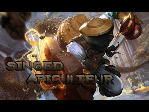 Skin Singed apiculteur - League of legends [FR]