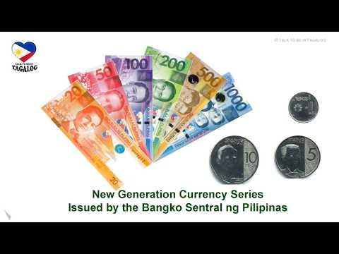 Learn Filipino Language - THE PHILIPPINE PESO