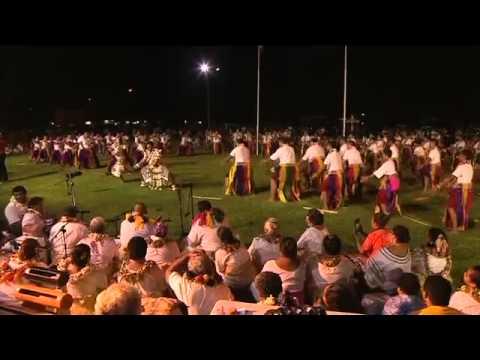 Concours de danses traditionnelles 13 Juillet 2014 à Wallis