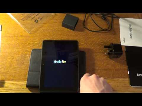 "Amazon Fire HDX 7"" 3rd Generation Unboxing and Impressions"