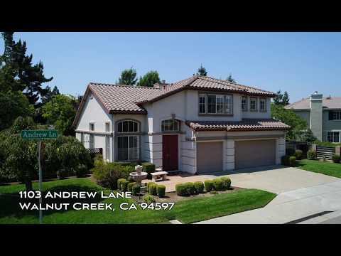 1103 Andrew Lane - Walnut Creek, CA by Douglas Thron drone real estate video tours