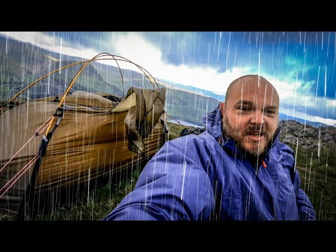 Camping In The Rain .....and Strong Wind