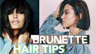 My 5 Best Brunette Hair Care Tips