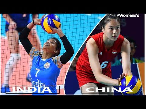 Asian Games Volleyball India 🇮🇳 Vs China 🇨🇳 Match Highlights.