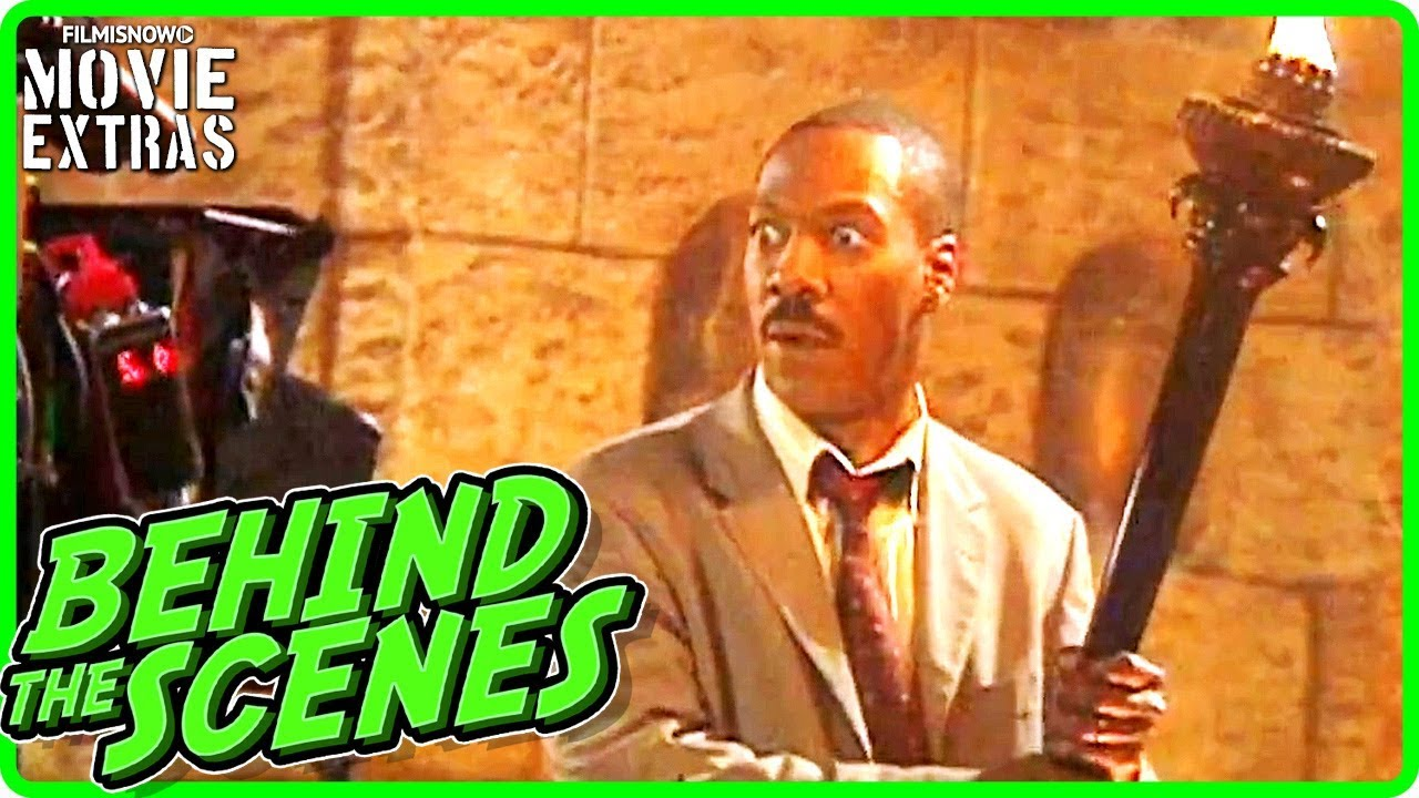 The Haunted Mansion 2003 Behind The Scenes Of Eddie Murphy Movie Youtube