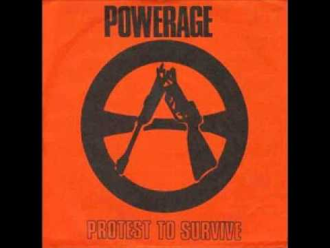 Powerage - freedom 1987 (Political Punk South Africa)