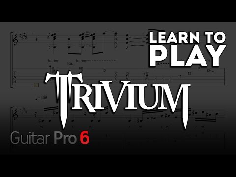 Learn to play TRIVIUM discography #Gigatab