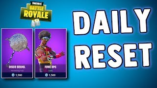 FORTNITE DAILY SKIN RESET - FUNK OPS FINALLY - Fortnite Battle Royale New Daily Items in Item Shop