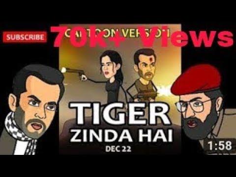 Tiger zinda hai trailer|Cartoon|Salman...