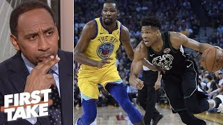 Greek Freak turning down workouts with LeBron, Kevin Durant is 'not smart' - Stephen A. | First Take