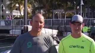 Doug and Dalton DeVos talk about racing at Quantum Key West Race Week 2015