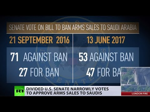 Bitter Division: US Senate narrowly votes to approve arms sales to Saudis