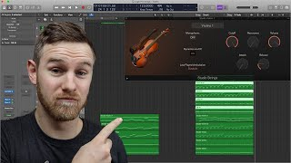 How to Use Logic Pro Studio Strings!