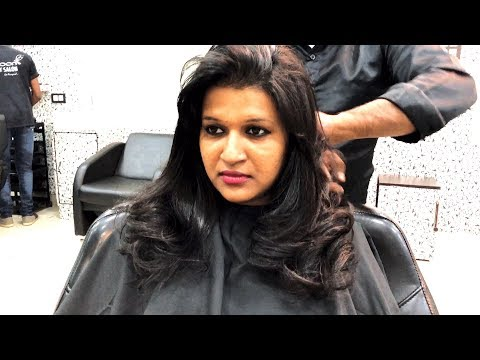 Haircut for Girls (Layer cut) | Hair Styling | Cocoon Salon