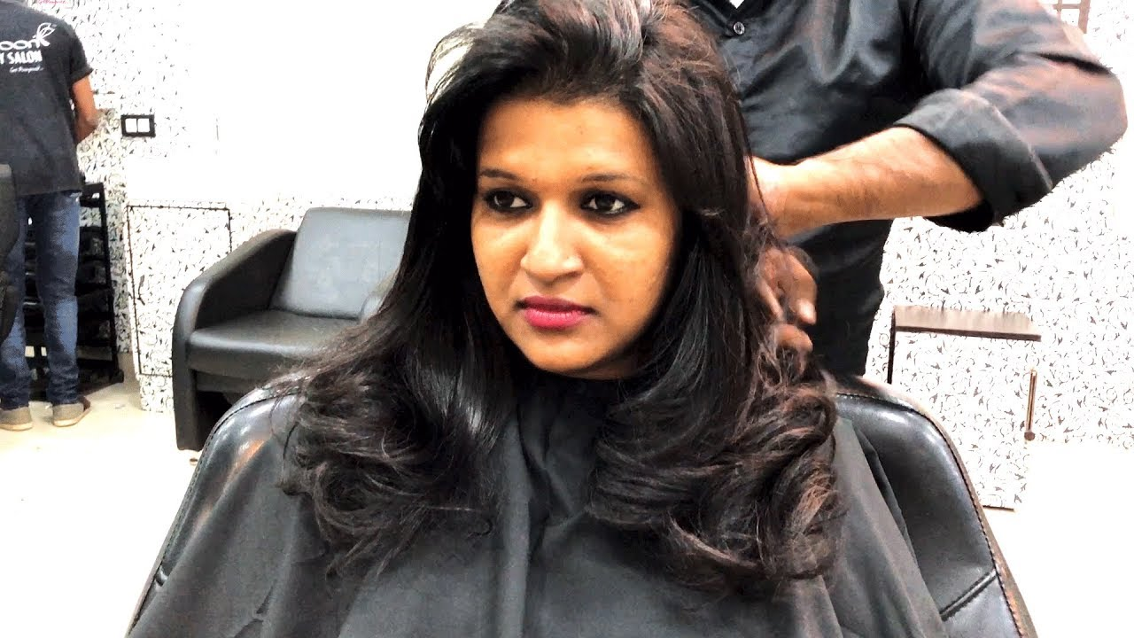 Haircut for Girls  Layer cut    Hair Styling   Cocoon Salon   YouTube Haircut for Girls  Layer cut    Hair Styling   Cocoon Salon