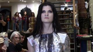 Bird's Eye View - Paul Rainbird @ True West Gallery Patricia Michaels Fashion Show 2018 Clip 2