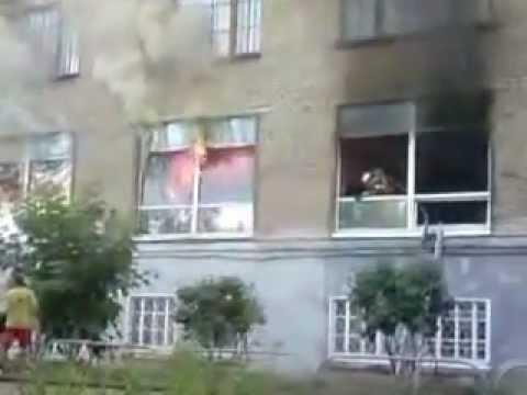 Пожар в магазине ТВЦ Верещагино Пермский край