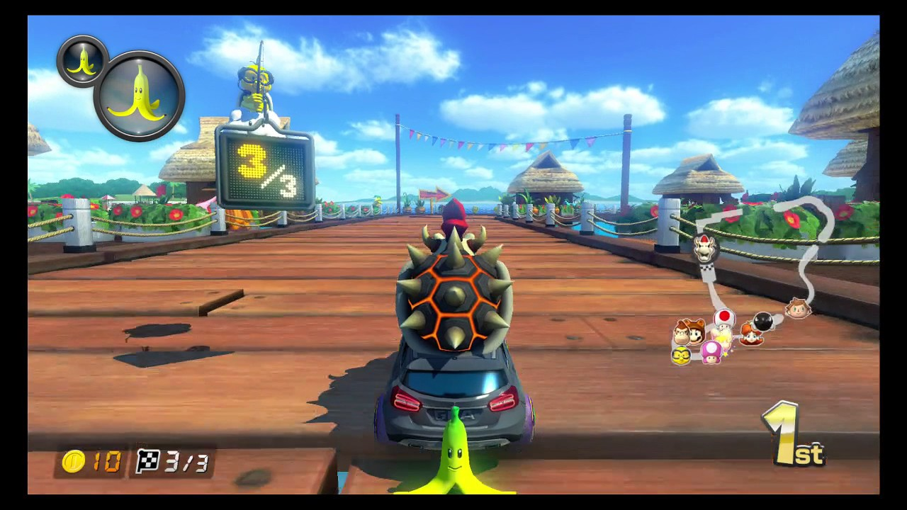 mario kart 8 deluxe grand prix mode 150cc shell cup 3 stars youtube. Black Bedroom Furniture Sets. Home Design Ideas