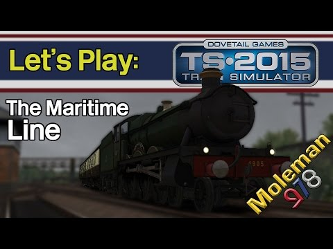 Let's Play: TS2015, The Maritime Line | 4900 Hall Class