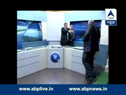 ABP special: Fight erupts inside Jordan's TV studio
