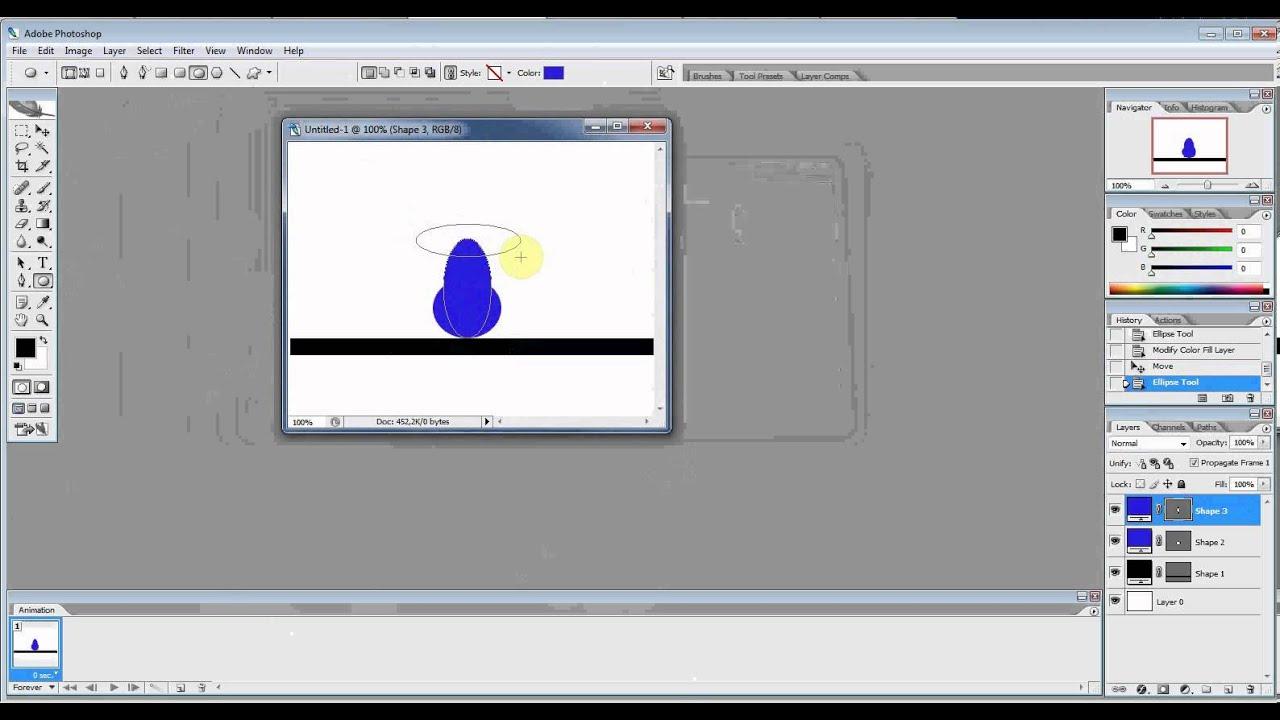 Фотошоп сделать анимацию с картинок, открытки мужчинам