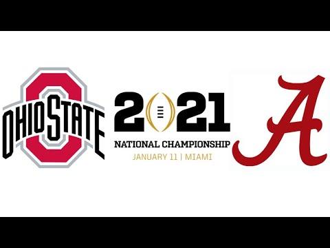 2021 CFP National Championship, #3 Ohio State vs #1 Alabama (Highlights)