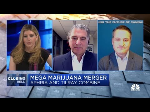 Aphria and Tilray merge in an all-stock deal as demand for cannabis grows