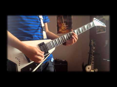 Alesana - The Last Three Letters (Guitar Cover)