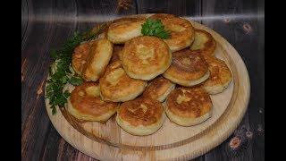 Молдавские постные жареные пирожки***ОЧЕНЬ интересная и оригинальная лепка***