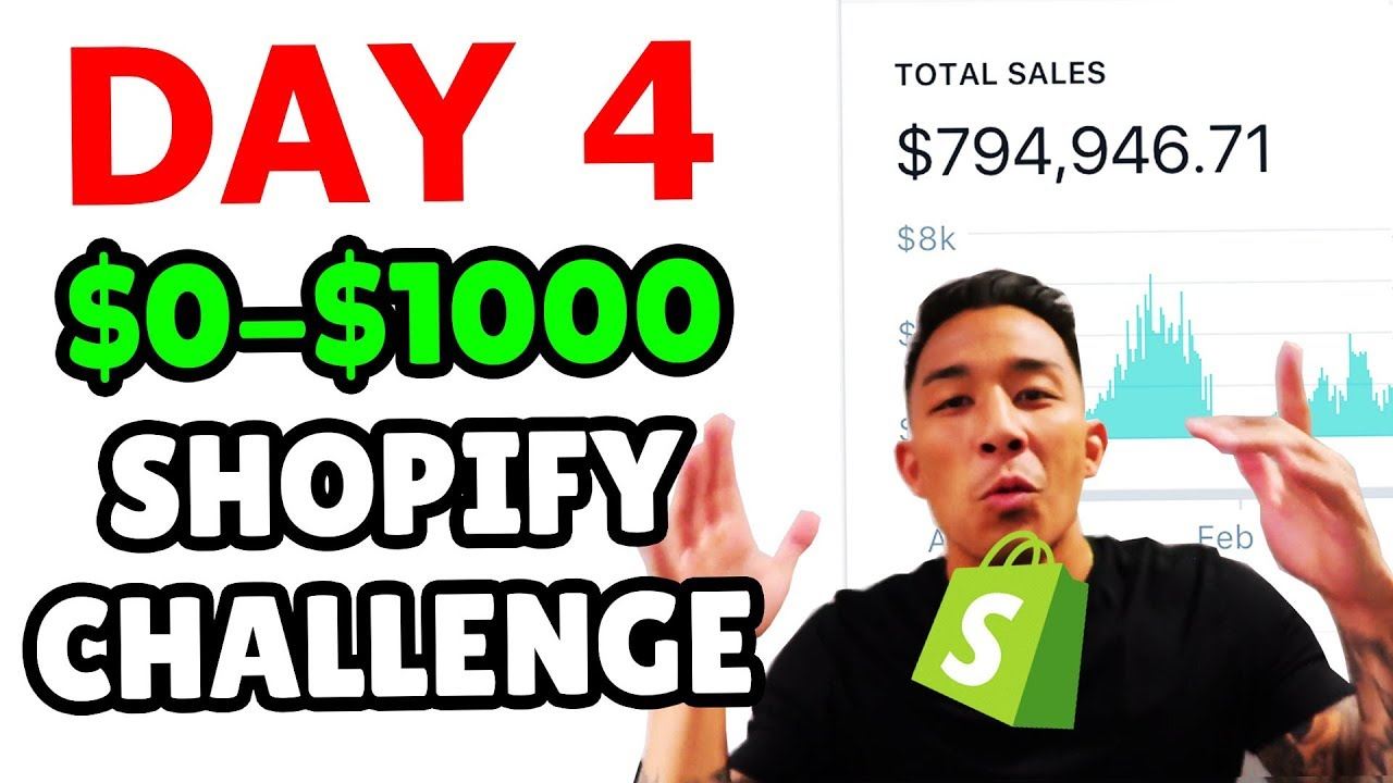 ???? DAY 4 | SHOPIFY DROPSHIPPING CHALLENGE | FACEBOOK AUDIENCE & INTEREST TARGETING ????