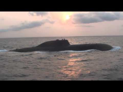 INS Chakra - Indian Navy Akula II SSN nuclear submarine